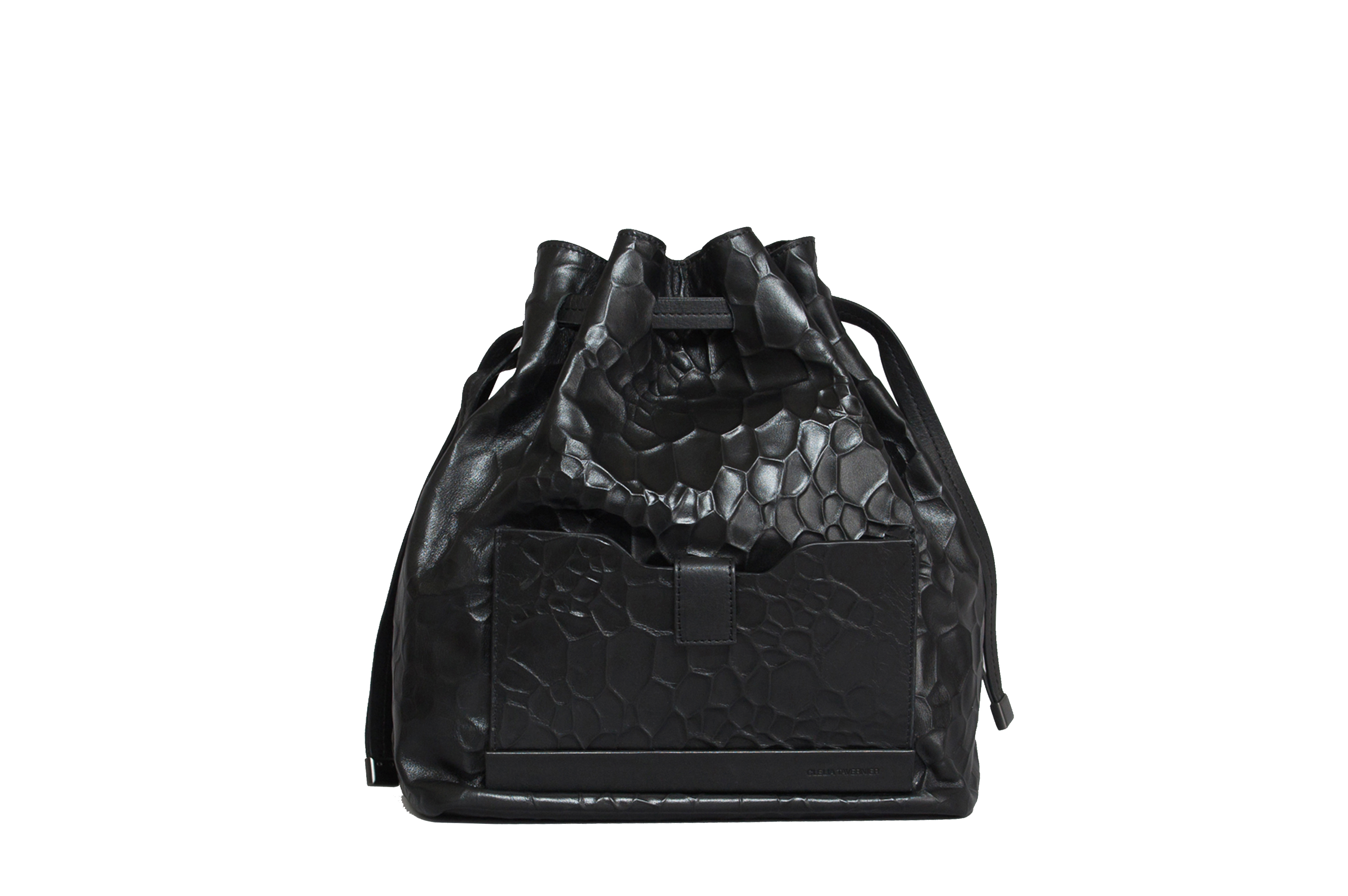 Marguerite embossed sac bag